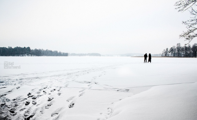 Let's have a walk on the lake