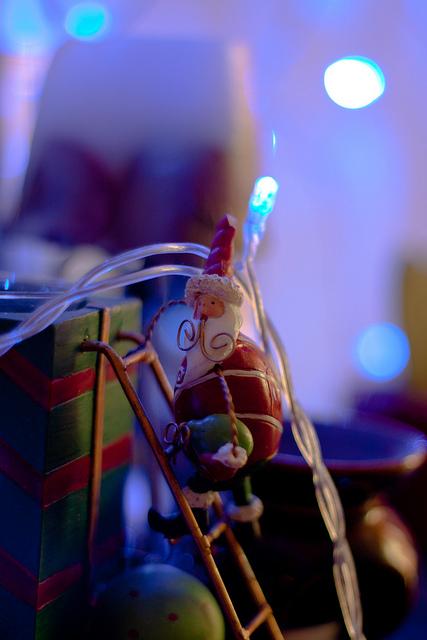 Santa stole Xmas