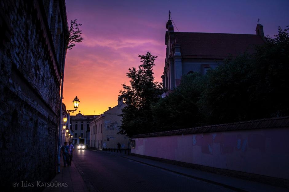 sunset Ignoto gatve, Vilnius